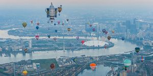 Up To 50 Hot Air Balloons Will Sail Over London In June