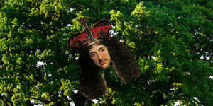 We Used To Have A Public Holiday That Celebrated Our King Hiding Up A Tree