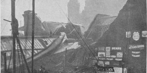 London's Forgotten Disasters: The Roof Of Charing Cross Station Collapses