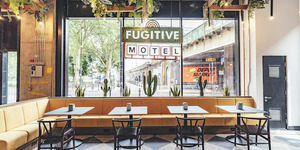 Get Your Fill Of Retro Americana At The New Fugitive Motel, Opening This Week