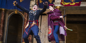 Merry Band Of Brothers And Sisters Take On The Henrys At Globe Theatre