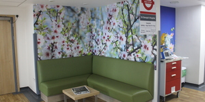 Why Has This Bus Stop Appeared Inside A South London Hospital?