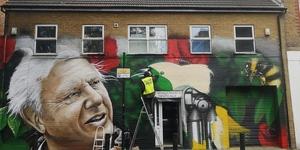 A David Attenborough Mural Has Appeared In East London