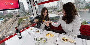 Have Dinner And Cocktails In The Thames Cable Cars