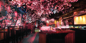 Shochu Lounge: A Dark, Boozy And Floral Sunday Brunch