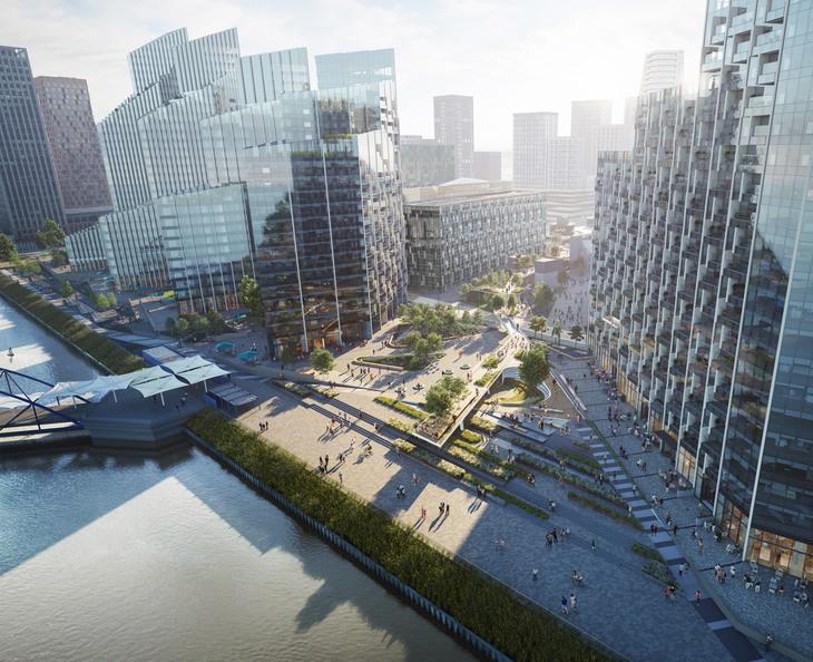Urban Landscape Design Walkways