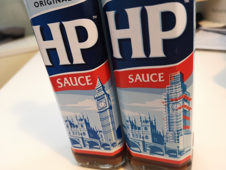 Image result for hp sauce label