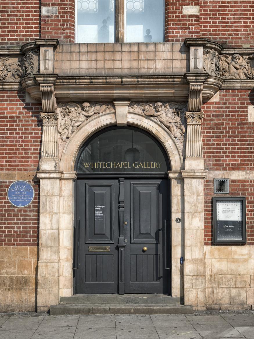 Whitechapel Gallery doors