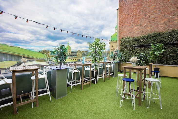Best rooftop terraces and bars in London: Bird of Smithfield