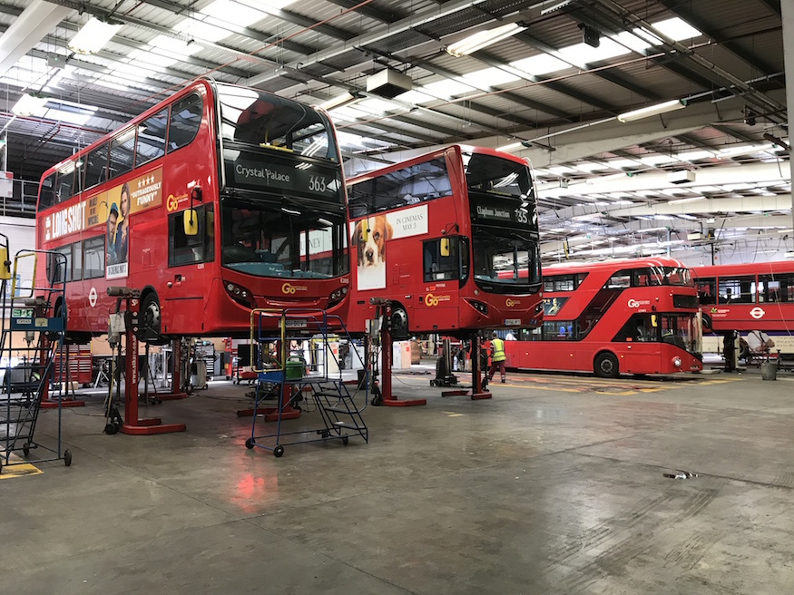 Camberwell bus garage