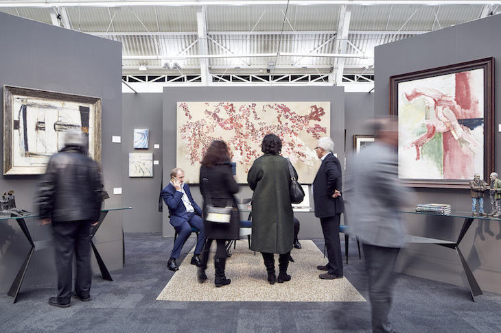 London Art Fair comes to Islington in north London every year