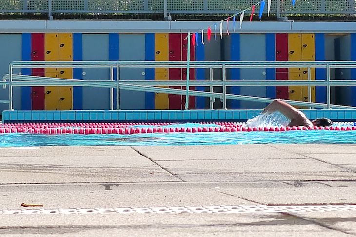 London Fields Lido, one of the best places for outdoor swimming in London