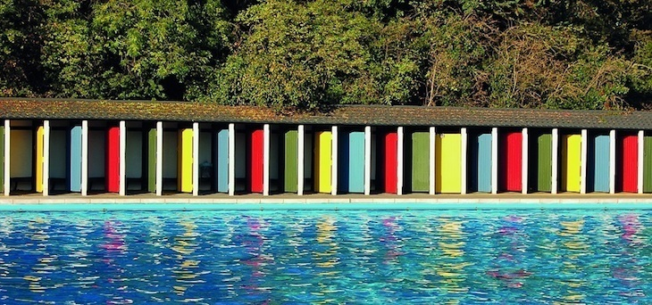 Tooting Bec Lido in London