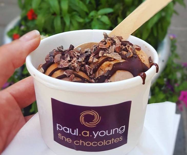 Best ice cream parlours and shops in London: Paul A Young turns his chocolate skills to ice cream