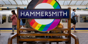 Seen These Pride Roundels On The Tube?