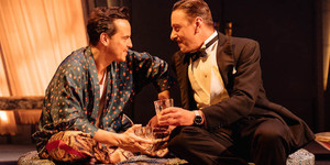 Present Laughter At The Old Vic: Andrew Scott Sparkles As An Overstretched Diva