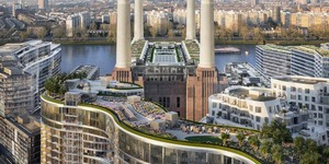 Battersea Power Station Is Getting A Stunning New Roof Garden