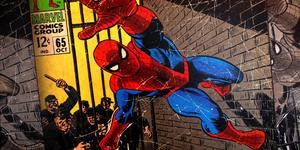Did You Know London Has A Bench Dedicated To Spider-Man?