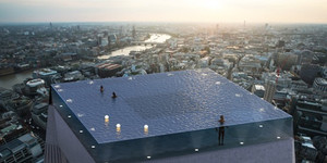 A 360 Degree, Vertigo-Inducing Infinity Pool Is Planned For London