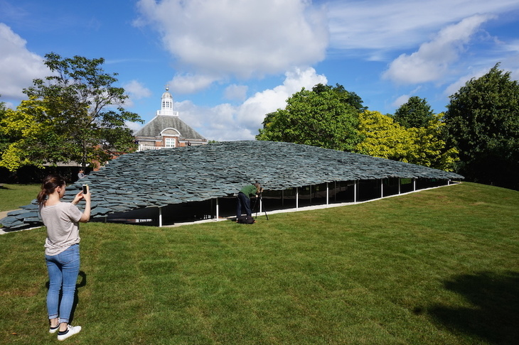 Serpentine Pavilion 2019 Junya Ishigama