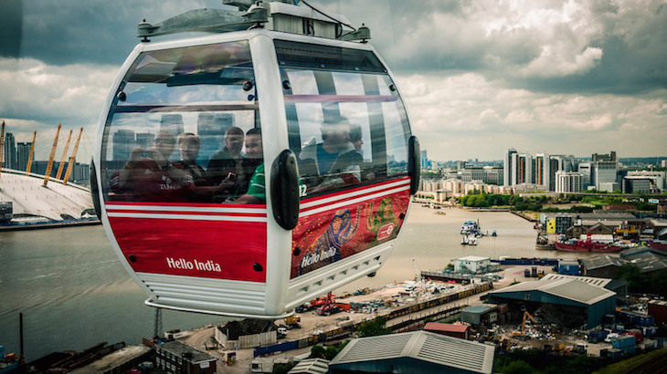Cheaper London sightseeing options for all the family: Cable Car/Emirates Air Line