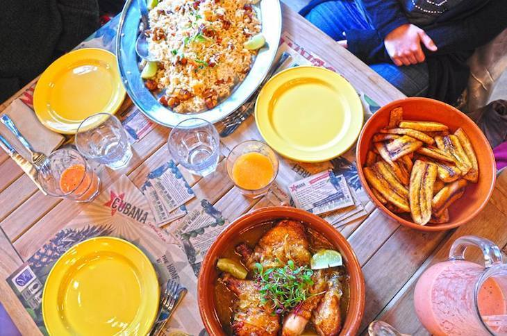Best children's menus in London: Cubana restaurant in Waterloo
