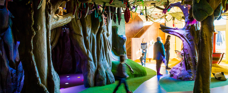 Family-friendly, cheap sightseeing options in London: Discover Children's Story Centre
