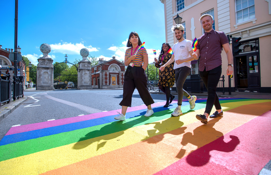 Look Out For These Special Pride Crossings In South London