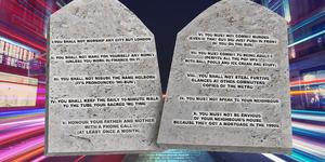 The 10 Commandments Of London