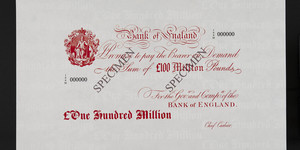 Eye Up A One Hundred Million Pound Banknote At This Museum