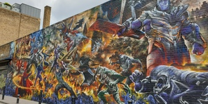 This Avengers Mural Near Brick Lane Is Stuffed With Superheroes