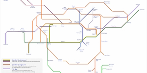 This Tube Map Shows Which Lines Are Air-Conditioned