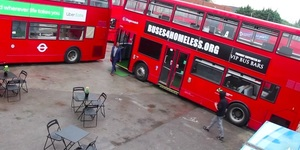 Discover The London Buses That Are Being Transformed To Help The Homeless