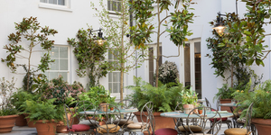 Ever Spotted The Floral Courtyard At This Covent Garden Restaurant?