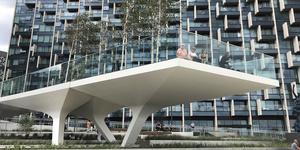 A First Look At The Tide: Pedways And Gardens At Greenwich Peninsula