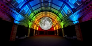 Even The Moon Is Celebrating London Pride This Weekend