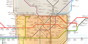 Tube Map Shows The Cheapest Pint Near Every Tube Station