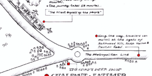 Beautiful Hand-Drawn Map Will Persuade You To Visit The Zone 9 Beer Triangle