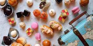 Scones In Suitcases: Travel-Themed Afternoon Tea Chugs Into St Pancras Station