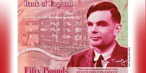 Alan Turing Is The New Face Of The £50 Note