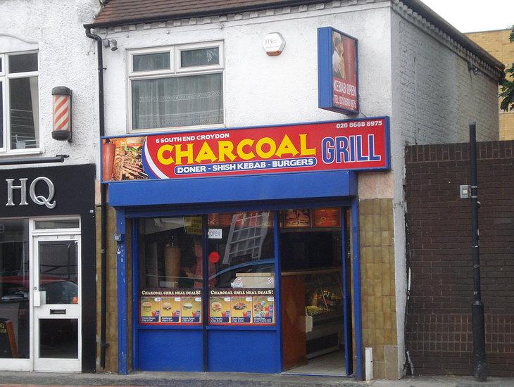 Charcoal Grill takeaway Croydon