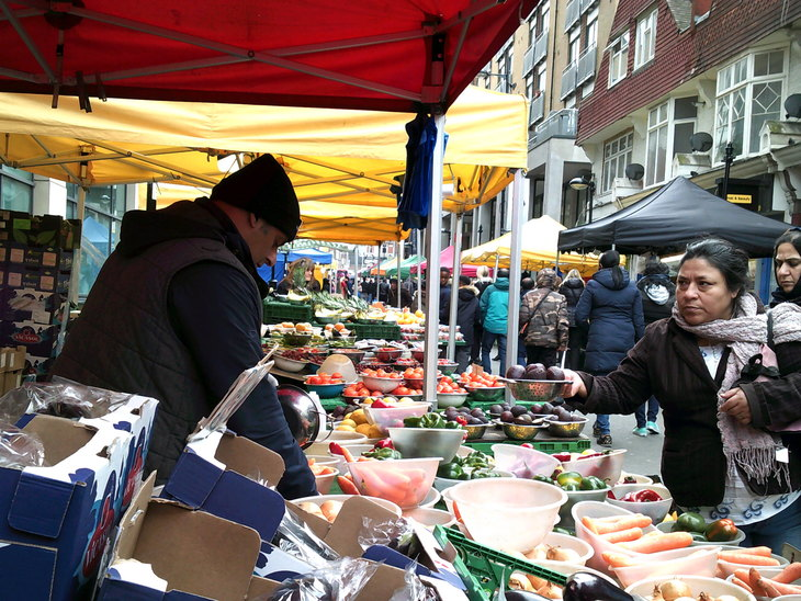Market in Croydon