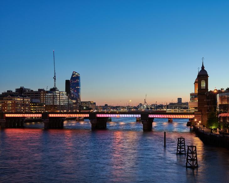 Illuminated River, Cannon Street