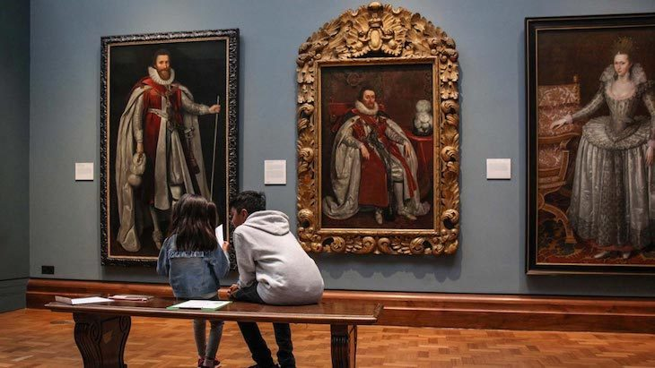 Family-friendly art galleries in London: National Portrait Gallery