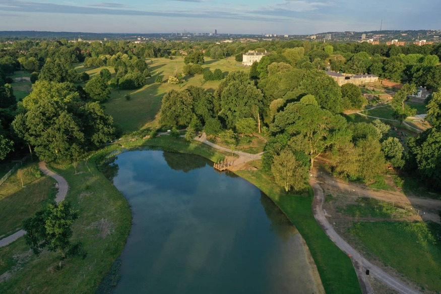 This Wild Swimming Lake Opens In South London This Weekend