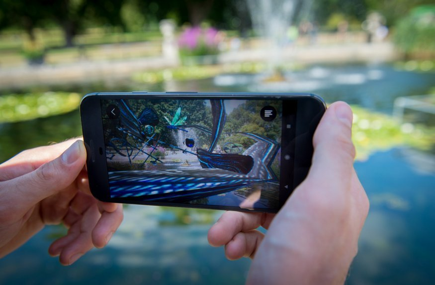 Creepy Sounds And Swarming Bats Feature In New AR App About Nature In Kensington Gardens