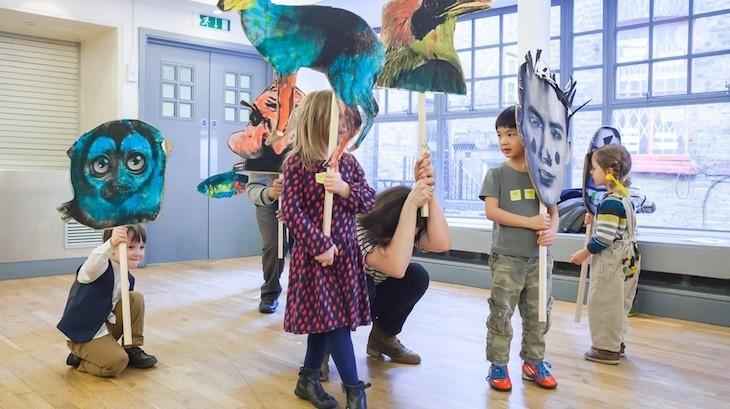 Family-friendly art galleries in London: Whitechapel Art Gallery