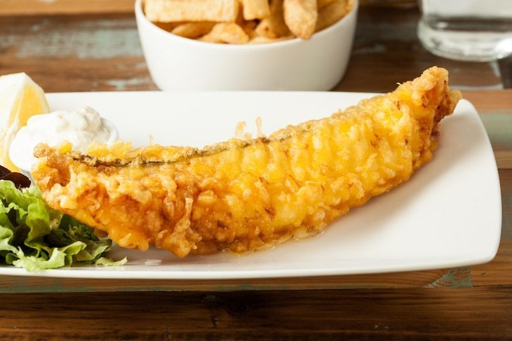 Hobson's offers Londoners some of the best gluten-free fish and chips