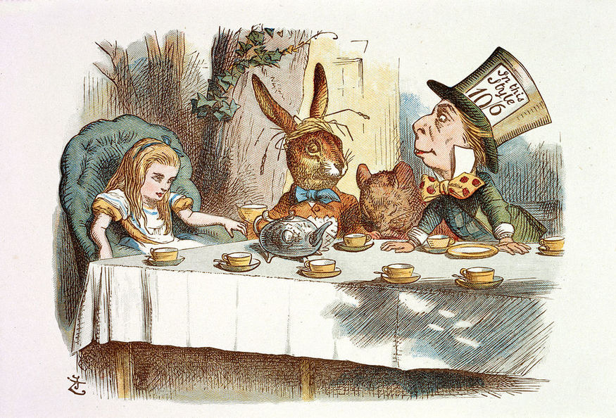 John Tenniel illustration Alice in Wonderland