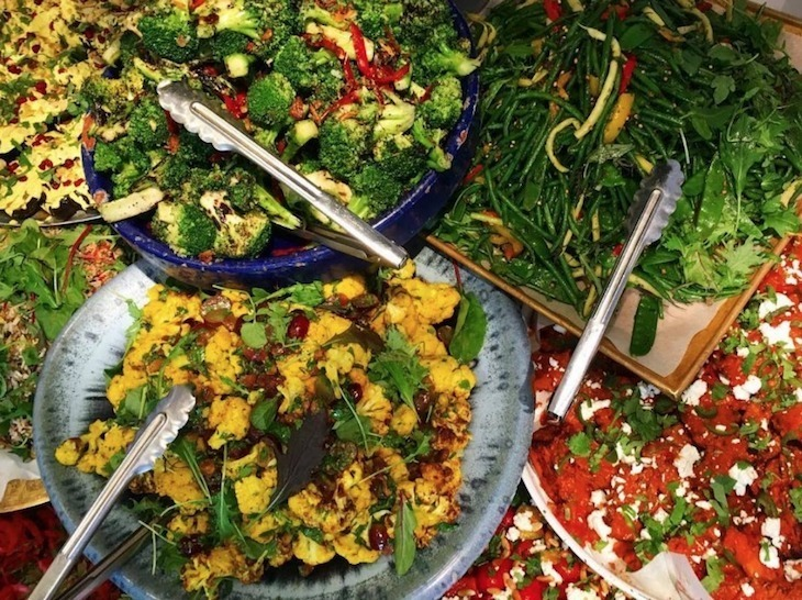 Best healthy eating restaurants in London: Ottolenghi